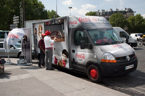food truck tournée nationale coca-cola light