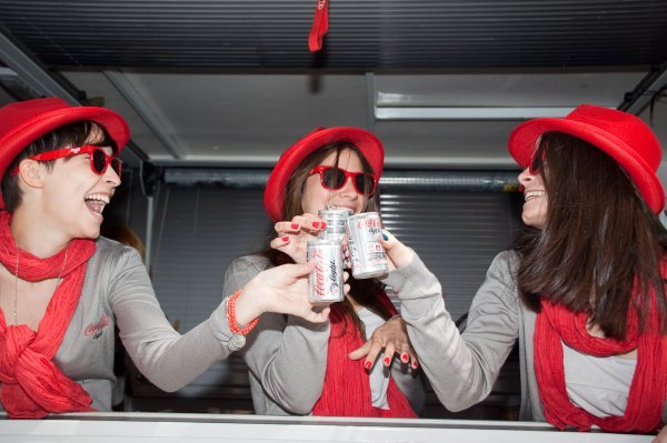 animatrices tournée nationale coca-cola light