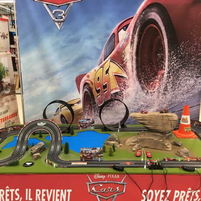 Circuit animation commerciale CARS