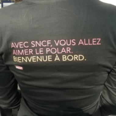 teeshirt promotion SNCF