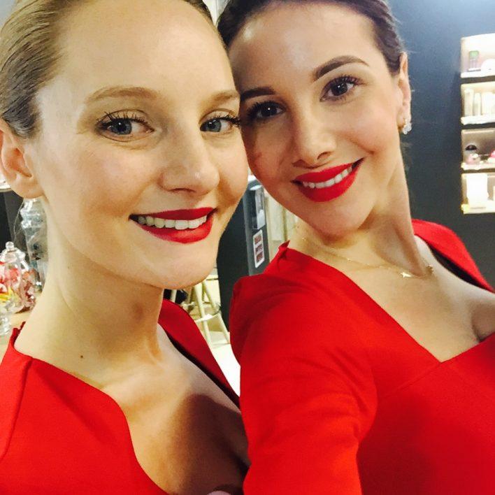 Selfie hôtesses d'accueil biotone