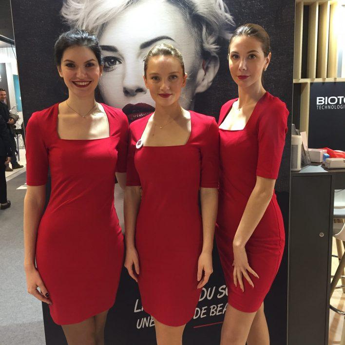 Groupe d'hôtesses d'accueil Biotone