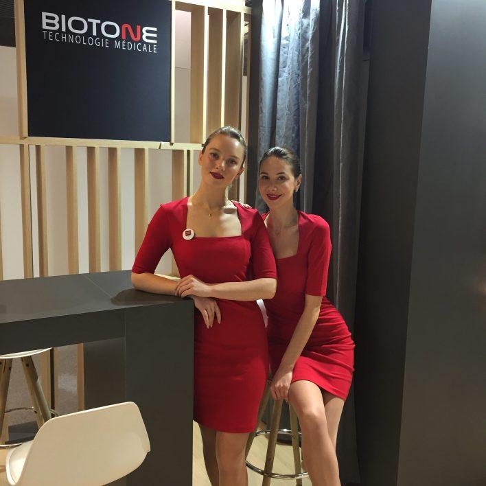 Hôtesses d'accueil Biotone