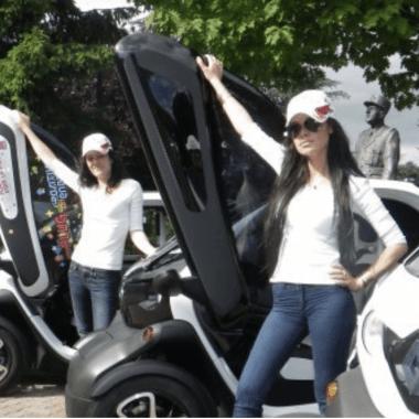 hôtesses animation voiture