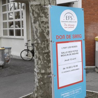 Campagnes de communication pour l'Établissement Français du Sang (EFS)